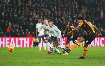 Hull City's penalty against Manchester United has really divided opinion