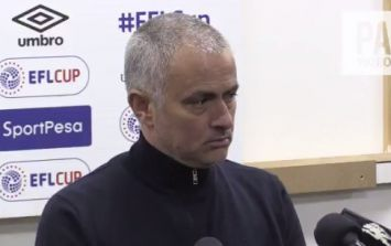 José Mourinho bizarrely claims Manchester United actually drew 1-1 with Hull City