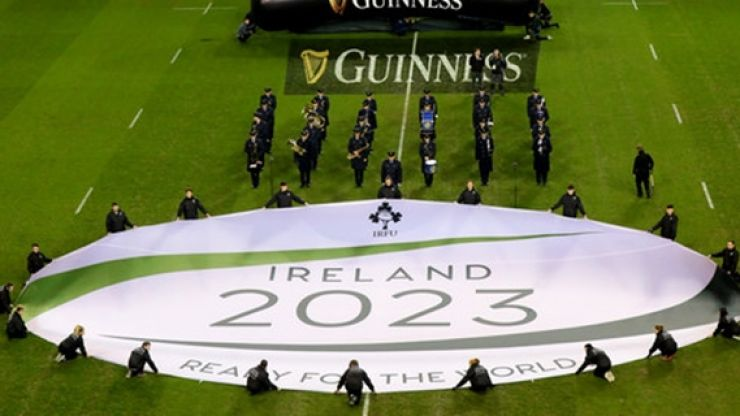 Has Ireland's hopes of hosting the Rugby World Cup been hit with a blow?