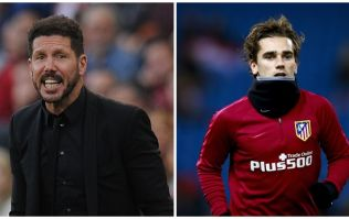 Diego Simeone offers his thoughts on Antoine Griezmann leaving Atletico Madrid