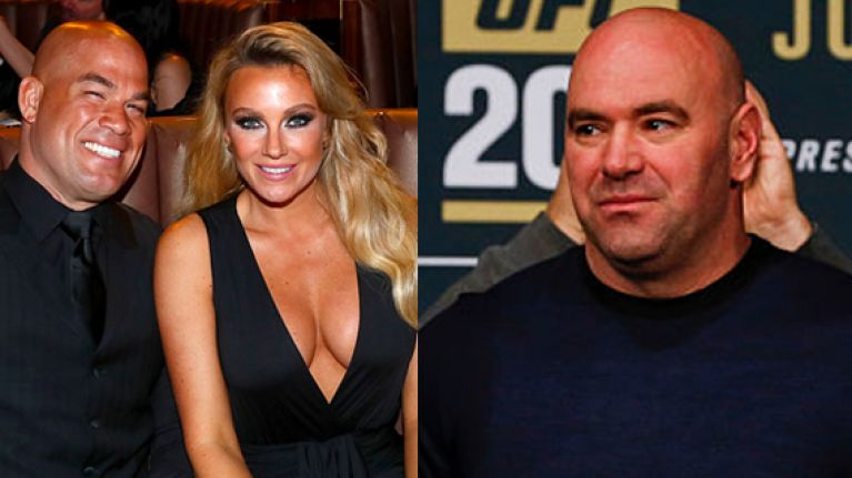 nasty feud seems well and truly over after dana white s classy text