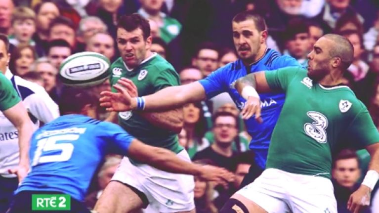 WATCH: RTÉ's promo video for the Six Nations is guaranteed to get your blood pumping