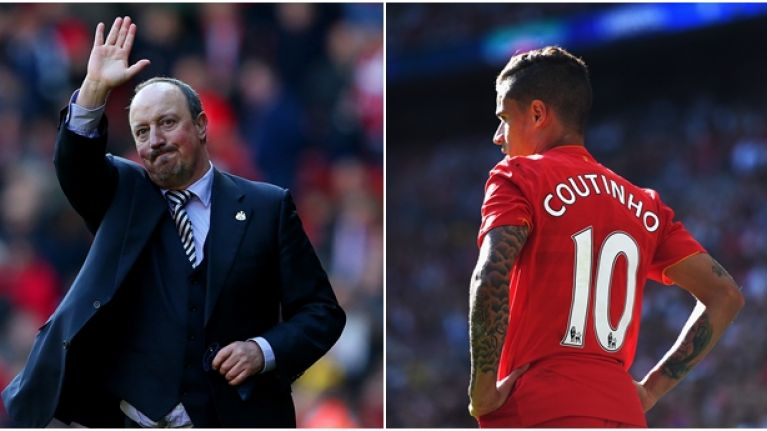 Here's why Liverpool have Rafa Benitez to thank for Philippe Coutinho