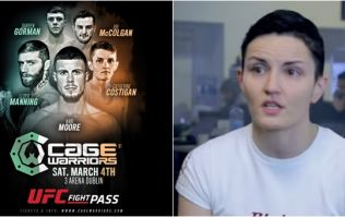 EXCLUSIVE: Limerick's Catherine Costigan reveals comeback opponent for Cage Warriors clash