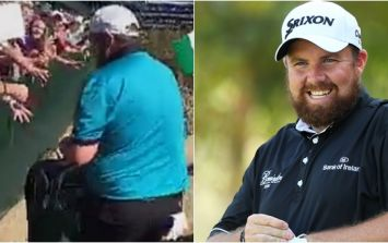 Of course Shane Lowry showed up to the Phoenix Open with a bag of cans