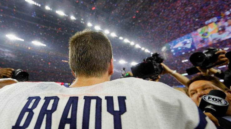 WATCH: New England complete historic 25-point Super Bowl comeback but all anyone can talk about is one catch