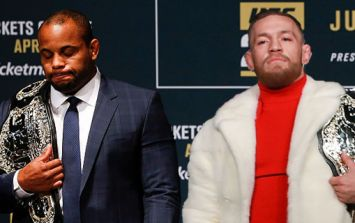 Conor McGregor inspired Daniel Cormier to try to make UFC history