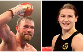 Andy Lee on hand with perfect replacement for Katie Taylor fans