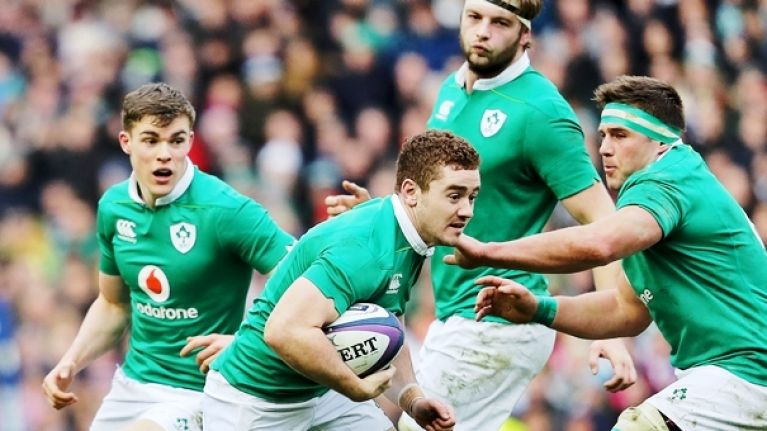 Ireland to ring a couple of key changes for Italy