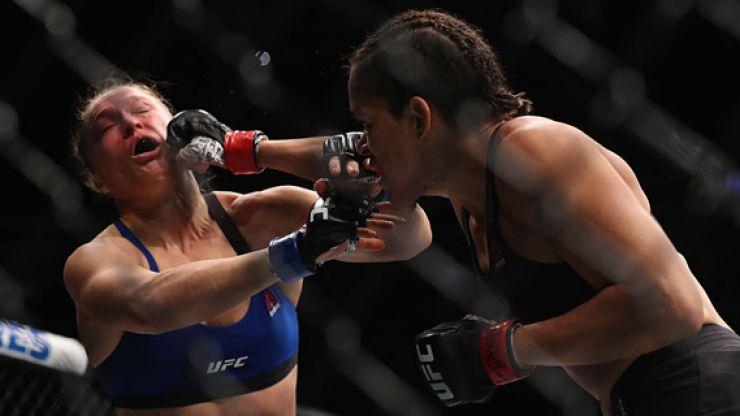 Amanda Nunes Swiftly Apologises To Ronda Rousey After Dana White S Update On Her Future Sportsjoe Ie