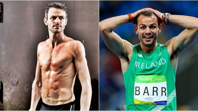 This is what Thomas Barr eats on race day, compared to a regular training day