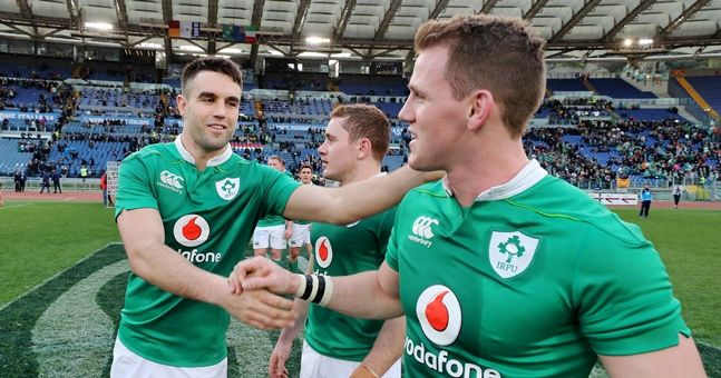 Here are all the players Ireland released back to their provinces
