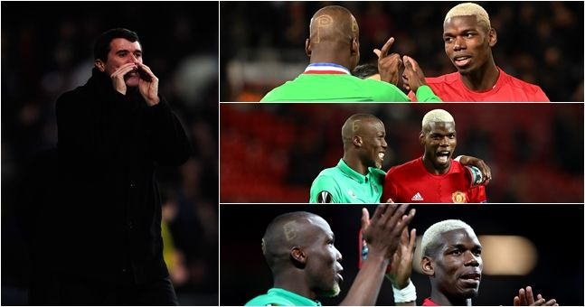 Roy Keane was predictably bothered by all the brotherly love on show from the Pogbas
