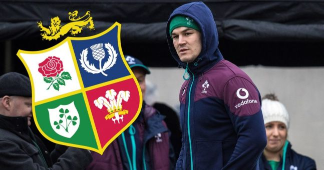 England legend makes crazy claim about Lions No10 as Johnny Sexton continues to train alone
