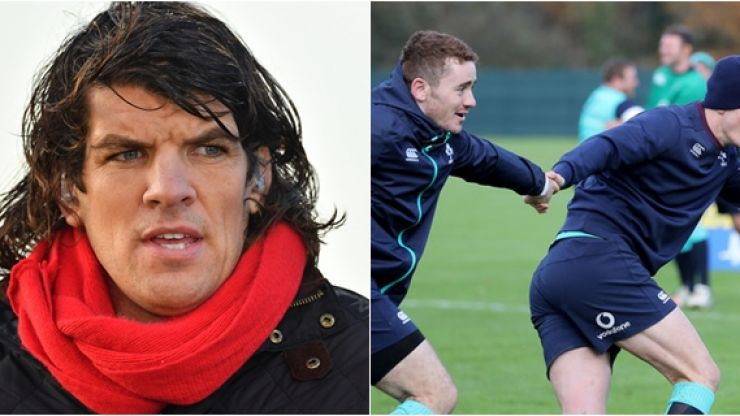 Donncha O'Callaghan doesn't hold back on who should get the 10 shirt against France