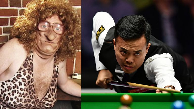 World Grand Prix snooker quarter final scorecard amused childish minds everywhere