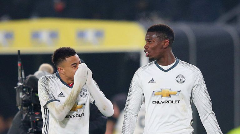 wholesale dealer 07fbb f1043 Jesse Lingard claims Paul Pogba wasn't the best player in ...