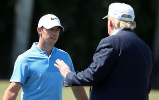 Rory McIlroy responds perfectly to backlash he received for playing golf with Donald Trump