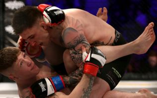 Norman Parke beats Paul Redmond, but it wasn't enough to earn him BAMMA lightweight title