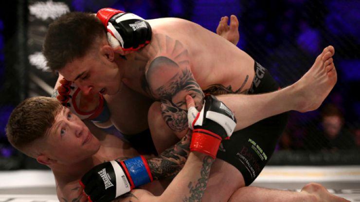 Norman Parke beats Paul Redmond, but it wasn't enough to earn him BAMMA lightweight title