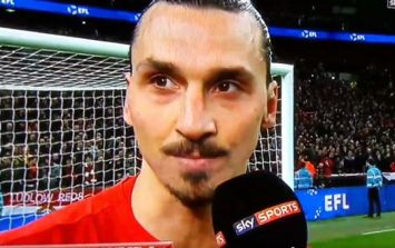 WATCH: Zlatan Ibrahimovic was utterly selfless in his post-match interview