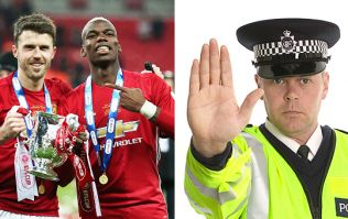 Manchester United players and fans clash with celebration police in ugly cup final scenes