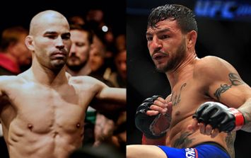Artem Lobov and Cub Swanson had very different reactions to brief fight bump scare
