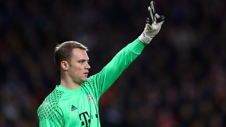 Manuel Neuer sticks the boot into Arsenal with brief Facebook post
