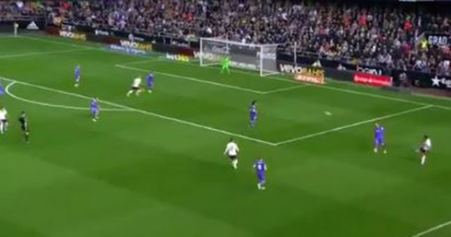 WATCH: Premier League flop scores wondergoal as Valencia catch Real Madrid cold