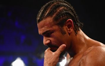 David Haye's former coach couldn't watch his downfall as he left the O2 Arena early