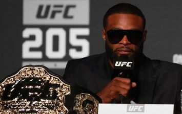 Anyone who criticises UFC champion Tyron Woodley for playing the race card should listen to this