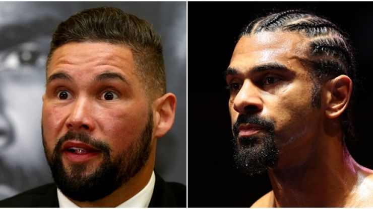 Tony Bellew sends nice message to David Haye after retirement