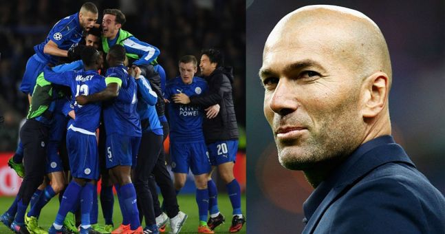 Zinedine Zidane is running scared of resurgent Leicester ahead of Champions League draw (sort of)