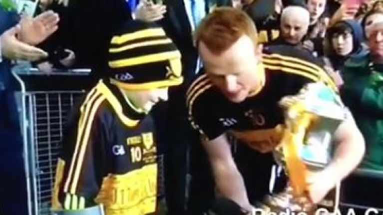 WATCH: Touching moment as brave Amy O'Connor lifts All-Ireland trophy