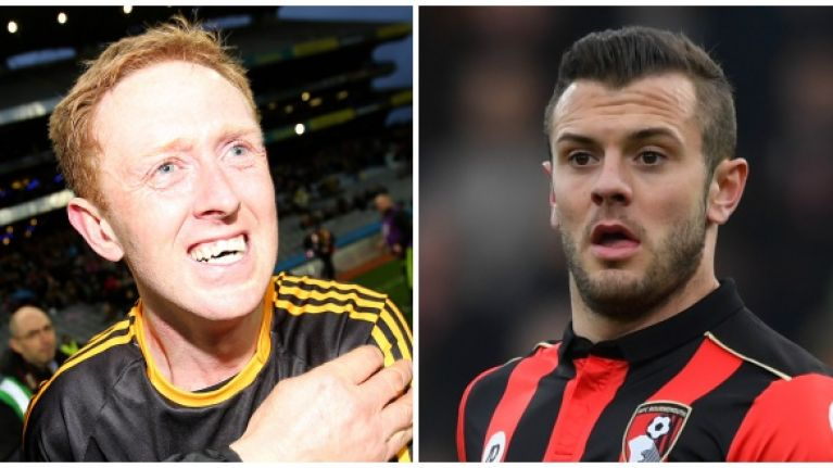 Jack Wilshere tweets his congratulations to Dr Crokes during Arsenal match
