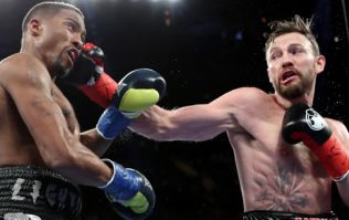 Andy Lee makes successful return to the ring after 15 month absence