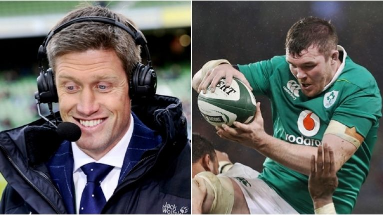 No-one could have possibly enjoyed Peter O'Mahony's lineout steal more than Ronan O'Gara