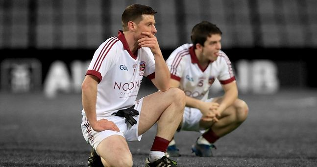 Moving picture of Slaughtneil physio really sums up everything that is good about the GAA