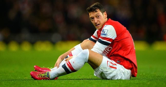 Only two Arsenal teammates make the grade in Mesut Ozil's Ultimate XI