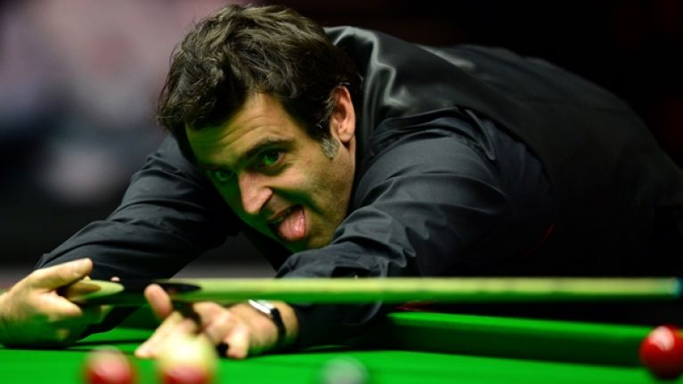 Ronnie O'Sullivan bizarrely burst into song when trying to explain defeat