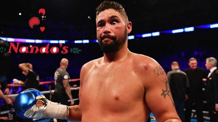 Nando's was a part of Tony Bellew's very specific diet ahead of David Haye fight