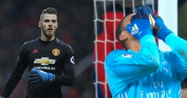 Brace yourselves for more David De Gea to Real Madrid rumours after this Keylor Navas howler