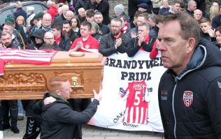Derry Journal's back page publishes Kenny Shiels' heartbreaking poem to Ryan McBride