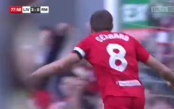 WATCH: Steven Gerrard scores outrageous goal with utterly sublime first touch