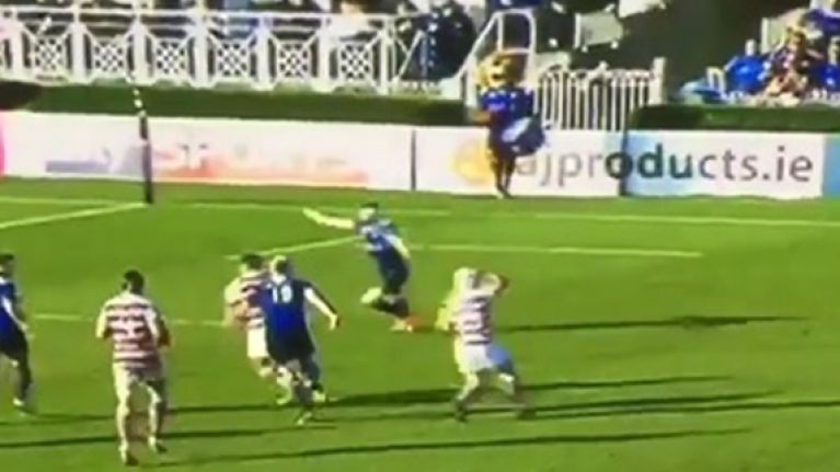 WATCH: This could be the worst forward pass we have ever seen