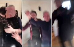 WATCH: Jockey's proud Irish mammy goes ballistic in sitting room after witnessing his first ever win