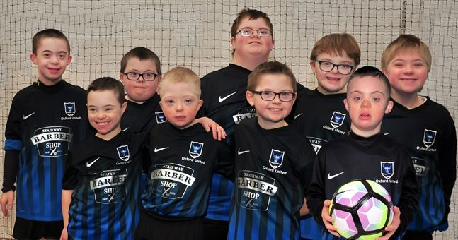 Derry men start a Down Syndrome football team but they have no-one to play against