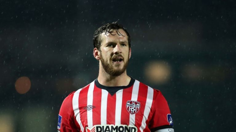 President Higgins leads the tributes to the late Derry City captain Ryan McBride