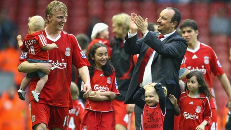 WATCH: Dirk Kuyt's son is 5-years-old and is already better than you at football