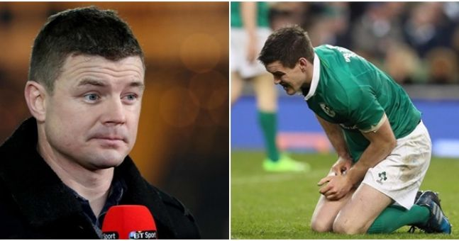 Brian O'Driscoll takes serious offence to these ridiculous comments made about Johnny Sexton